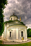 Church in Kuskovo. Old mansion in Moscow, Russia Royalty Free Stock Photos