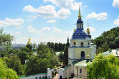 Church in Kyiv, Ukraine, cityscape Royalty Free Stock Photos