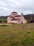 Church of la Anunciada with trees Royalty Free Stock Photography