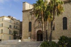 The church of La Ciotat. The old church provencale of La Ciotat Royalty Free Stock Image
