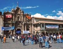 Church of la Compañía, Cuzco, Perù, Stock Photos