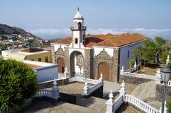 Church of La Concepcion, Valverde, El Hierro island. Church of La Concepcion, Valverde, El Hierro, Canary islands, Spain stock images