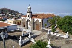 Church of La Concepcion, Valverde, El Hierro island. Church of La Concepcion, Valverde, El Hierro, Canary islands, Spain stock image
