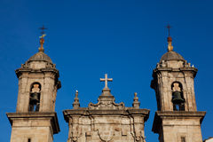 Church in La Coruna, Galicia Stock Photos