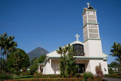 Church in La Fortuna Royalty Free Stock Photo