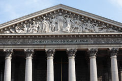 Church La Madeleine Paris France Royalty Free Stock Photo
