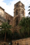 Church:  LA MARTORANA, Bell Tower. Palermo, Sicily Royalty Free Stock Image