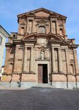 The Church of La Morra in Piedmont Stock Photography