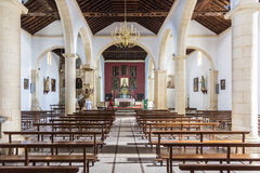 Church La Oliva Fuerteventura Las Palmas Canary Islands Stock Photography
