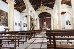 Church La Oliva Fuerteventura Las Palmas Canary Islands Stock Photography