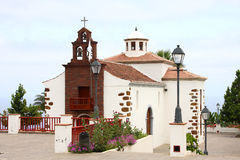 Church of La Palma (Canary Islands) Royalty Free Stock Photos