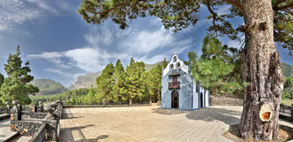 Church at La Palma, Canary Islands Royalty Free Stock Image