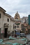 The Church in La Paz. Royalty Free Stock Photography