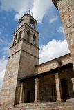 Church of La puebla de Sanabria Royalty Free Stock Photo
