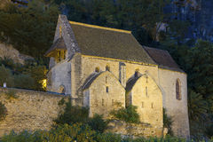 Church in La Roque-Gageac Royalty Free Stock Photos