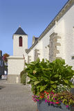 Church at La Turballe in France Stock Photos