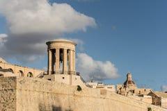Church in la valletta city. La valletta malta's isle Royalty Free Stock Image