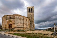 Church La Vela Cruz of Segovia Royalty Free Stock Photography