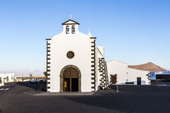 Church of Lady of Los Dolores Stock Photography