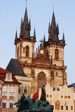 Church of Lady before Tyn, Prague Stock Image