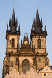 Church of Lady before Tyn, Prague Stock Photos