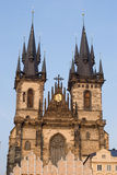 Church of Lady before Tyn, Prague Royalty Free Stock Photos