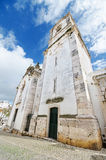 Church in Lagos, Algarve, Portugal. Royalty Free Stock Photos