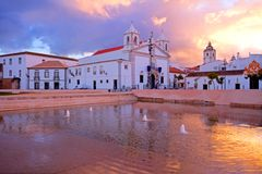 Church in Lagos Portugal Stock Photography