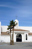 Church Lake Havasu City. A church in the Spanish style, with whitewashed walls and simple construction in Lake Havasu City Royalty Free Stock Photos