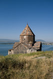 Church by the lake Sevan Stock Image