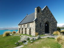 Church on lake tekapo Royalty Free Stock Image