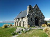 Church on lake tekapo. In new zealand Royalty Free Stock Image