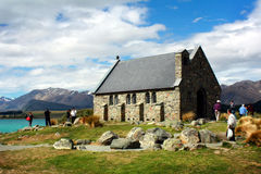 Church in Lake Tekapo, New Zealand Stock Images