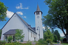 Church at the Lake Titisee Stock Photo