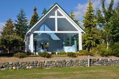 Church on Lakefront Drive, Te Anau Stock Photo