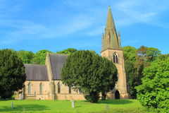 A church landscape Royalty Free Stock Photography