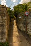 Church Lane in Bradford-on-Avon Stock Image