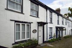 Church Lane, Dulverton. Old Cottages, Church Lane, Dulverton Royalty Free Stock Photo