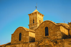 Church in Larnaca, Cyprus Royalty Free Stock Photo