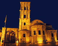 Church in Larnaka city Stock Photography