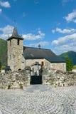 Church of Larrau, France Royalty Free Stock Photos