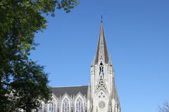 Church Las Carmelitas in Montevideo Royalty Free Stock Photos
