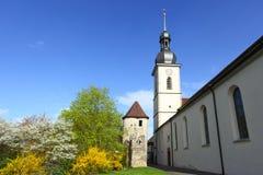 Church in Lauda Stock Image
