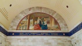 Church of Lazarus Al-Eizariya stock photos