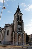 Church. In Le Teil, France Stock Image