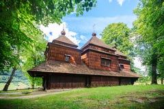 Church, Lemko church in Smolnik, Poland Royalty Free Stock Photos