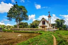 Church in Lempo village.Tana Toraja royalty free stock images