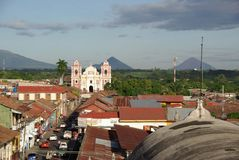 Church in Leon, Nicaragua Stock Photography