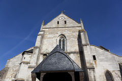 Church of Les Andelys Royalty Free Stock Image