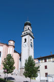 Church in levico terme north Italy Stock Images